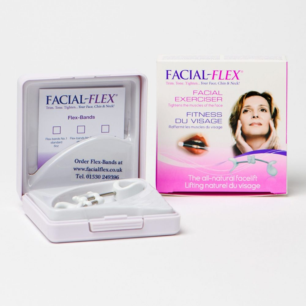 Facial-Flex® device and packaging